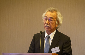 """Explanation of Selection Process"" Mr. Hiroshi Akuto, Chairman of the Grant Selection Committee"