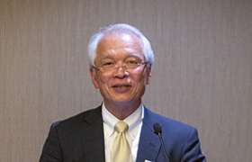 """Closing Address"" Dr. Hideyuki Tokuda, Vice Chairman of the Grant Selection Committee"