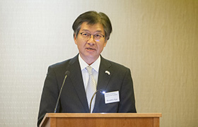 """Congratulatory Speech"" Mr. Kazuhiro Iryu, Dupty Consul General of Japan in San Francisco"